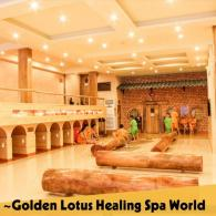 golden lotus healing spa world